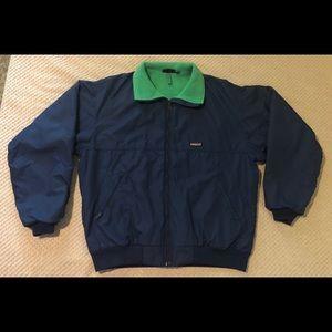 Patagonia Vintage Fleece Lined Bomber Jacket